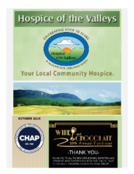 Hospice of the Valleys – October Newsletter 2016