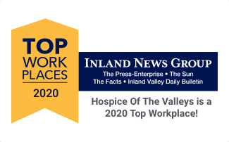 """Hospice of the Valleys Awarded """"Top Workplace"""" for Past 7 Years"""