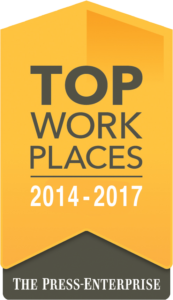 Top Work Places: 2014 - 2017 - The Press-Enterprise