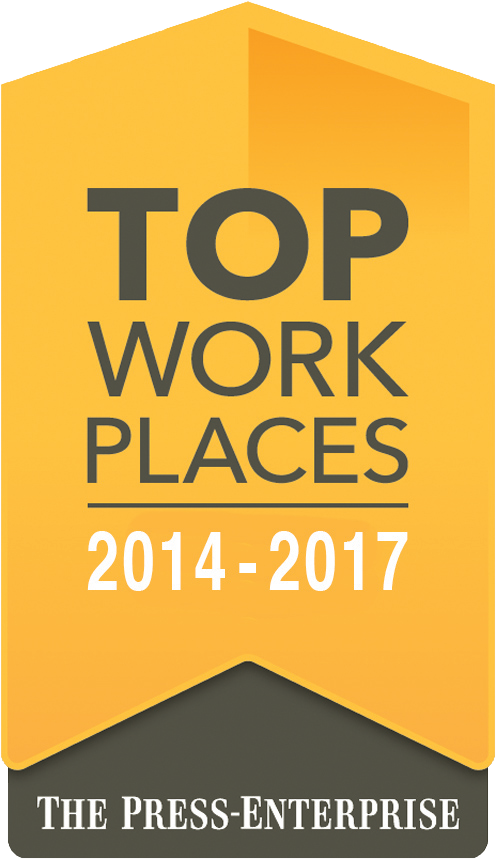Top Work Places: 2014 - 2017 - The Press-Enterprise